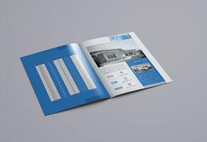 7271تصميم بروفايل، كتالوج، كتيب مميز لمشروعك 6$ للصفحة الواحدة